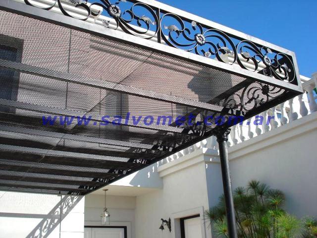 Techos para cocheras techos de chapa techos para garages for Techos de metal para casas
