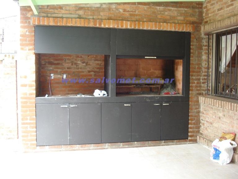 Puertas para parrilla cerramiento de parrilla - Puertas mueble de cocina ...